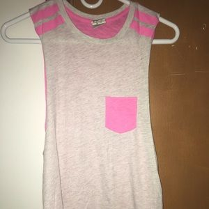 Pink Muscle Tee